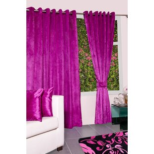 Blush Pink Velvet Curtains Wayfaircouk