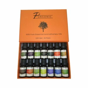 14 Piece 100% Pure Essential Aromatherapy Oils Gift Set