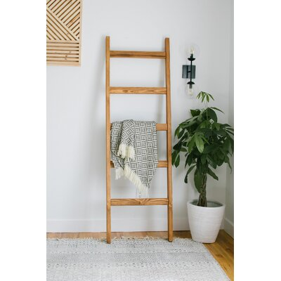 Foundry Select 6 ft Blanket Ladder Finish: Early American