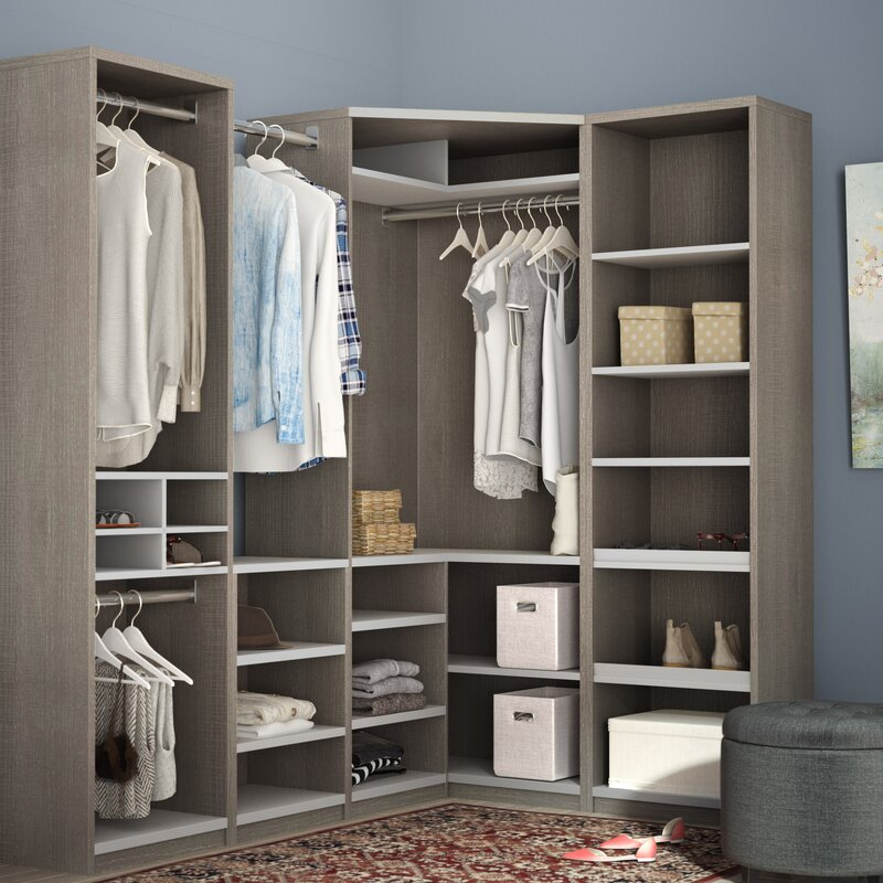 Classic Corner Walk 759 W Closet System Reviews Joss Main