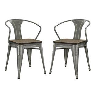 Ashlyn Metal Dining Chair (Set of 2)