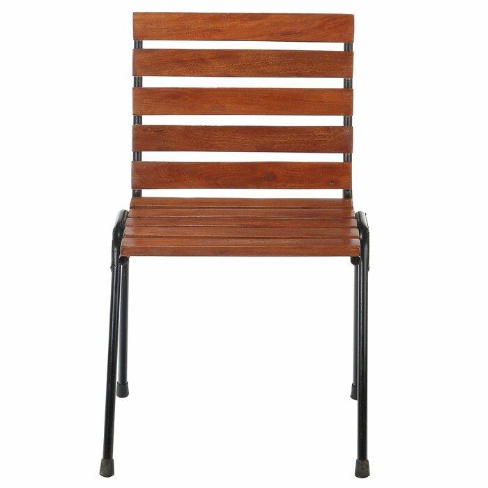 Myah Wood Slat Side Chair