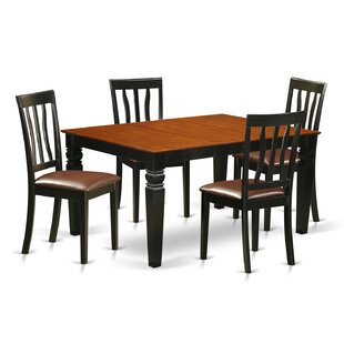 Arata 5 Piece Dining Set