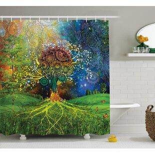 Appleton Mother Earth Zen Decor Shower Curtain