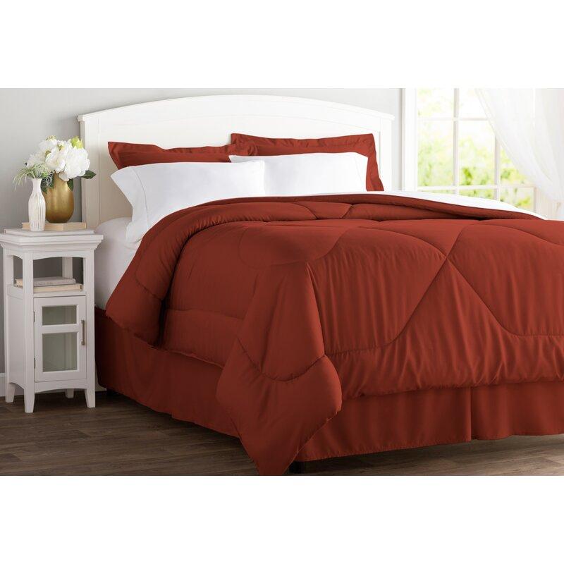 a8f862ac00d8 Wayfair Basics™ Wayfair Basics 8 Piece Bed in a Bag Set   Reviews ...