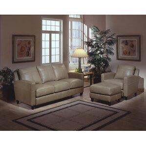 Skyline Leather Configurable Living Room Set..