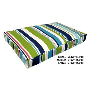 Nadia Stripe Indoor/Outdoor Dog Bed