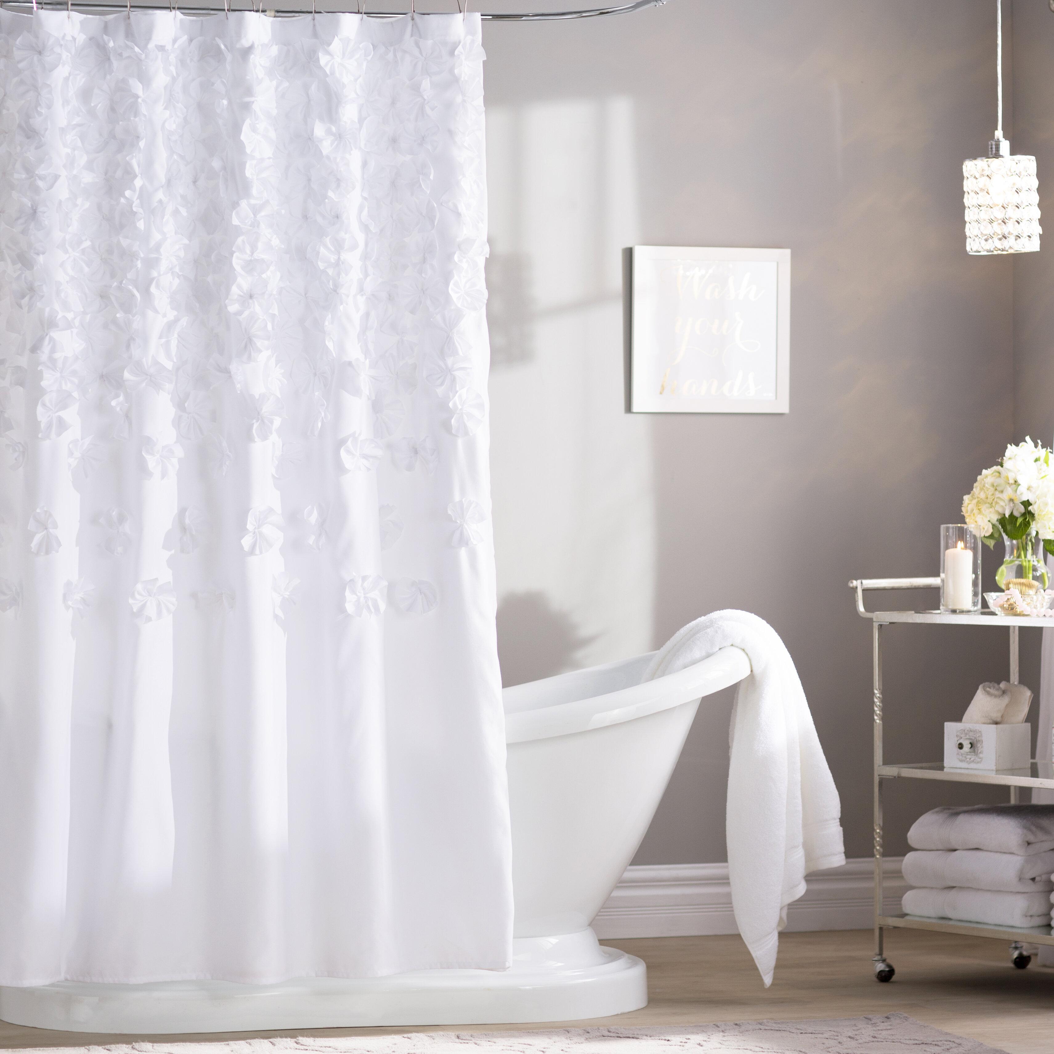 Willa Arlo Interiors Rieke Shower Curtain & Reviews | Wayfair