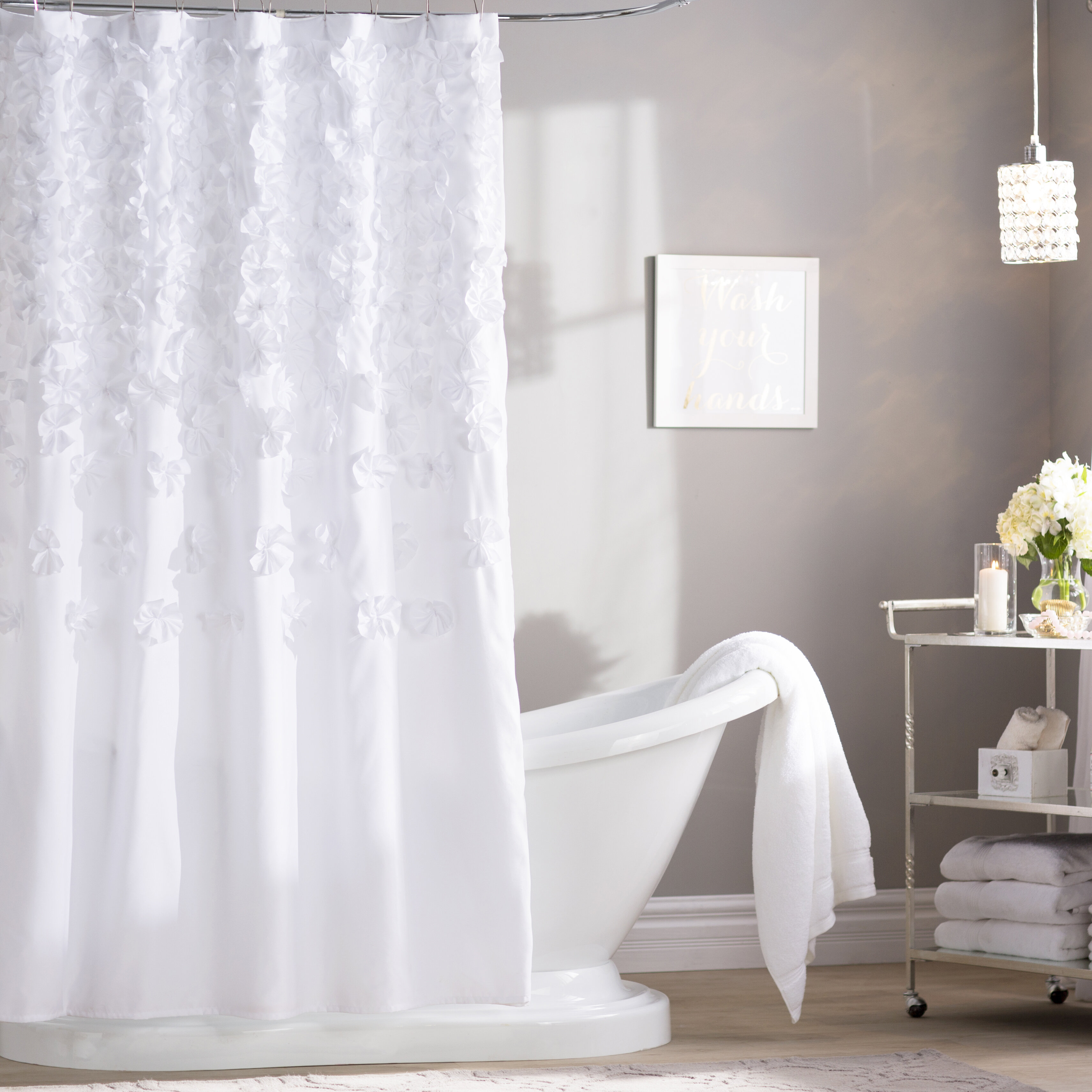 Willa Arlo Interiors Rieke Single Shower Curtain Reviews