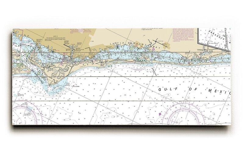 Longshore Tides Fl Siesta Key Casey Key Fl Nautical Chart Sign