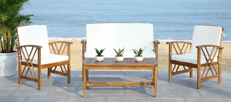 amazing wood patio sets