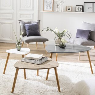 Agnes 3 Piece Coffee Table Set
