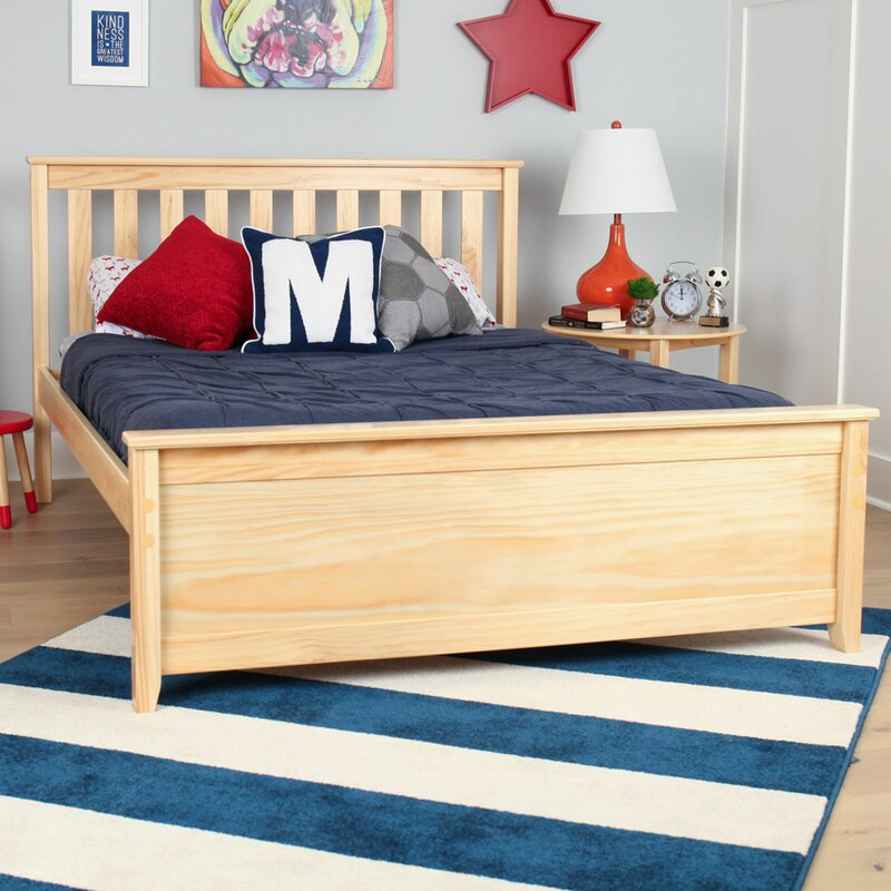Max & Lily Solid Wood Full Platform Bed & Reviews | Wayfair