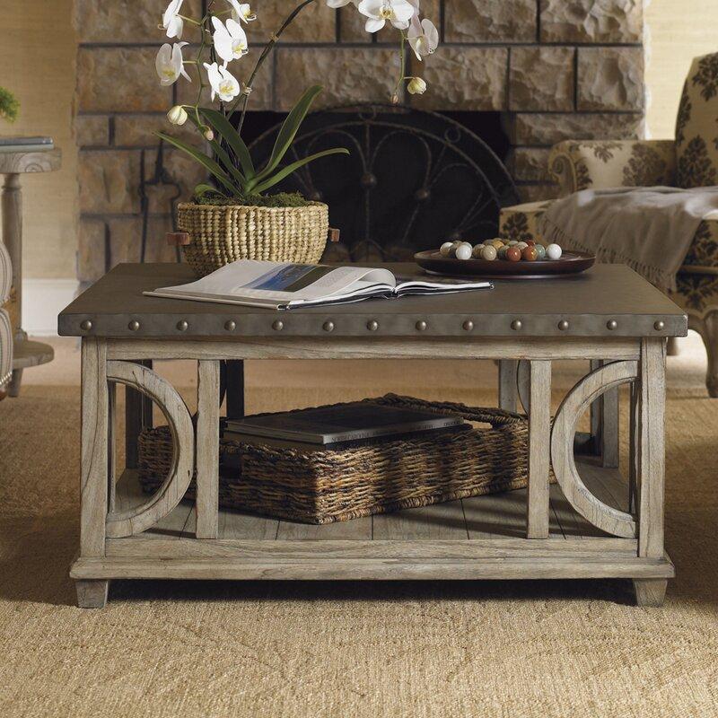 Lexington Twilight Bay Wyatt Coffee Table Reviews Wayfair - Oyster coffee table