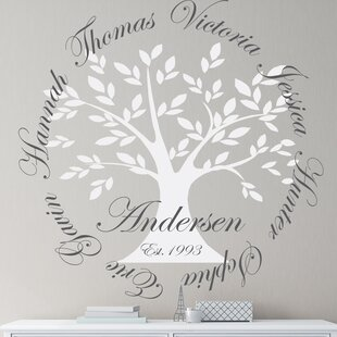 Personalized Family Tree Wall Decal