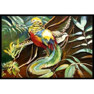 Mandarin Pheasant Doormat