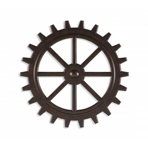 Gear Wall Decor industrial gear decor | wayfair