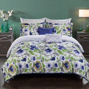 carbone 9piece reversible comforter set