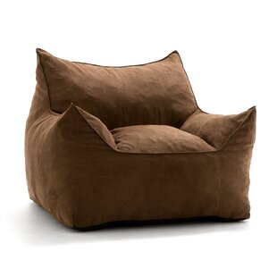 Brown Sturdy Bean Bag | Wayfair