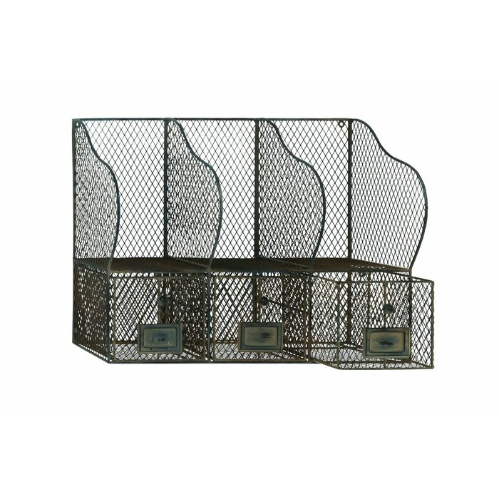 22 X 16 10 Metal Wire Wall Organizer