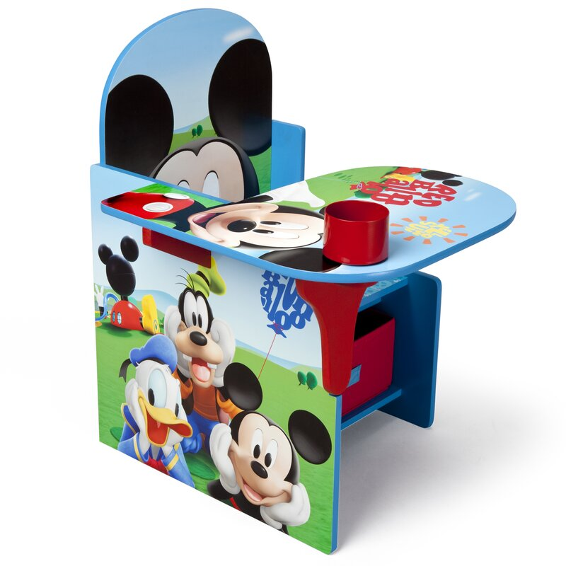 mickey mouse chair desk