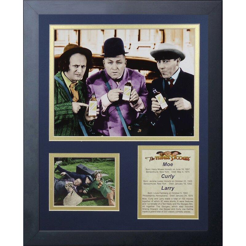 The Three Stooges Salesmen Framed Memorabilia