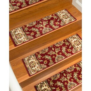 Baylis Red Stair Tread Set Of 13