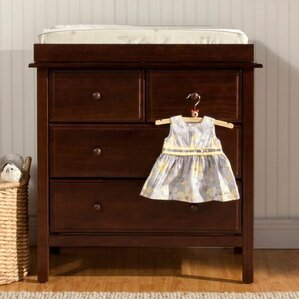 Autumn 4 Drawer Dresser Combo. Espresso ...