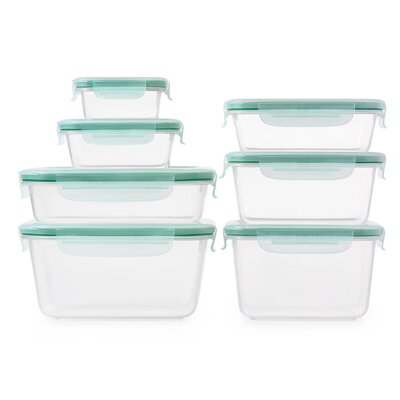 OXO Good Grips SNAP Plastic 8 Container Food Storage Set Wayfair