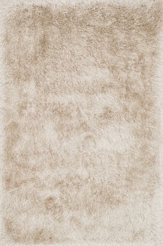 orian shag handtufted beige area rug