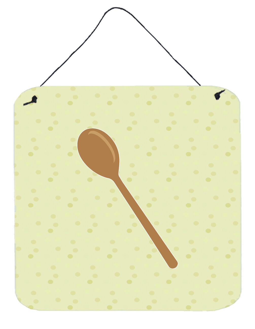 August Grove Wooden Spoon Metal Wall Décor | Wayfair