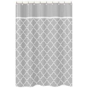 Navy And Gray Shower Curtain Wayfair