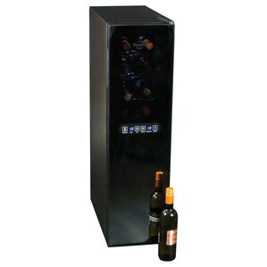18 Bottle Dual Zone Freestanding Wine Cooler by Koolatron