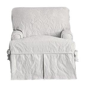 matelasse damask tcushion armchair slipcover