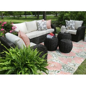 Sanford 6 Piece Seating Group with Sunbrella Cushions