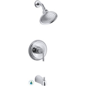 Devonshire Rite-Temp Pressure-Balancing Bath and Shower Faucet Trim, Valve Not Included