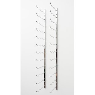 Wall Series 63 Bottle Wall Mounted Wine Bottle Rack Great Reviews
