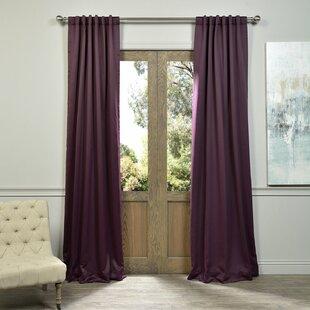 Plum Curtains | Wayfair