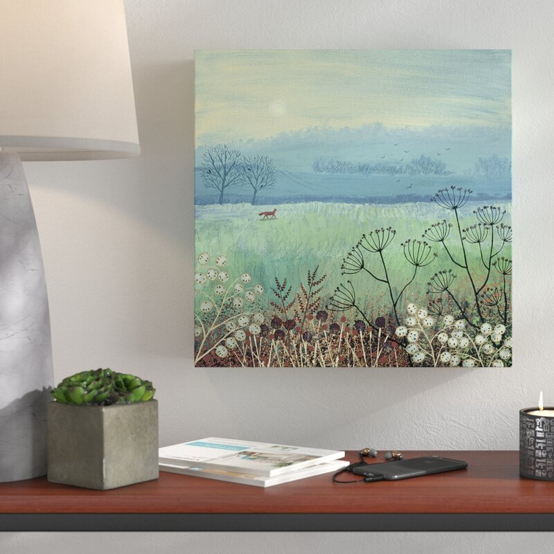 Jo Grundy Canvas Print Wall Art 3 sizes available Misty Morning