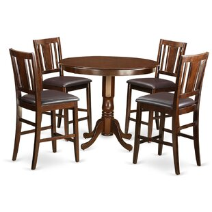 Trenton 5 Piece Counter Height Pub Table Set