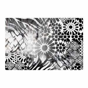 Victoria Krupp Out of Morocco Abstract Black Area Rug
