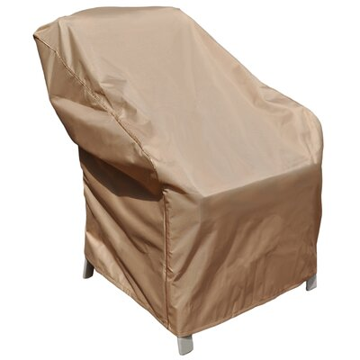 BudgeIndustries Chelsea Outdoor Chair Cover Size: 39 H x 37 W x 41 D