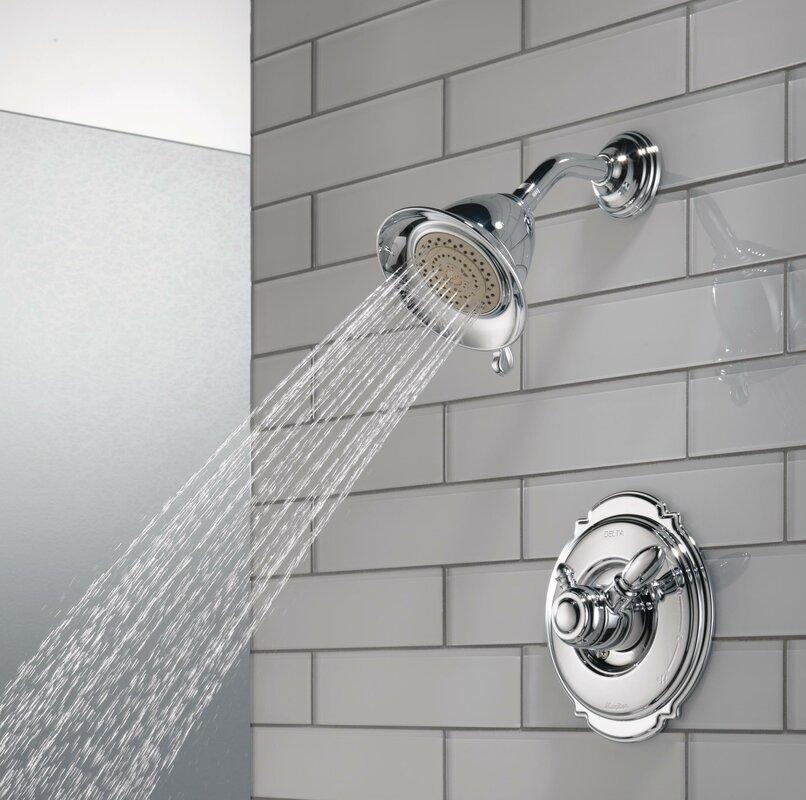 Delta Victorian Pressure Balanced Diverter Shower Faucet Trim with ...