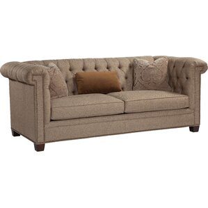 High Back Tufted Chesterfield Sofa