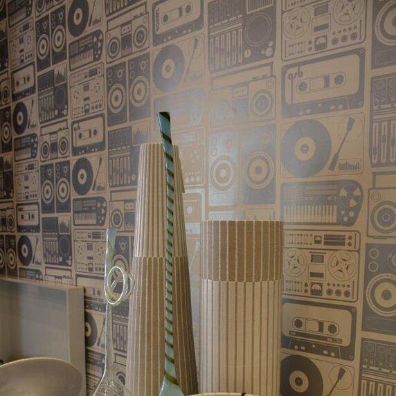 "Aimee Wilder Designs Analog Nights 15' x 27"" Scenic Wallpaper (Set of 2)"