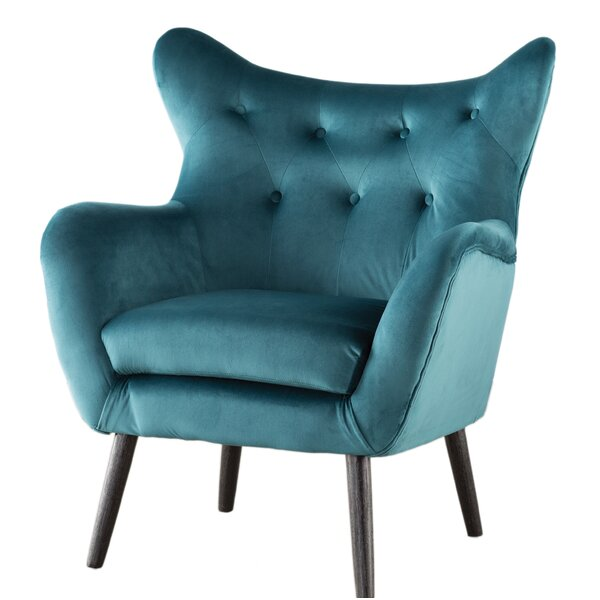 Etonnant Teal Wingback Chair | Wayfair