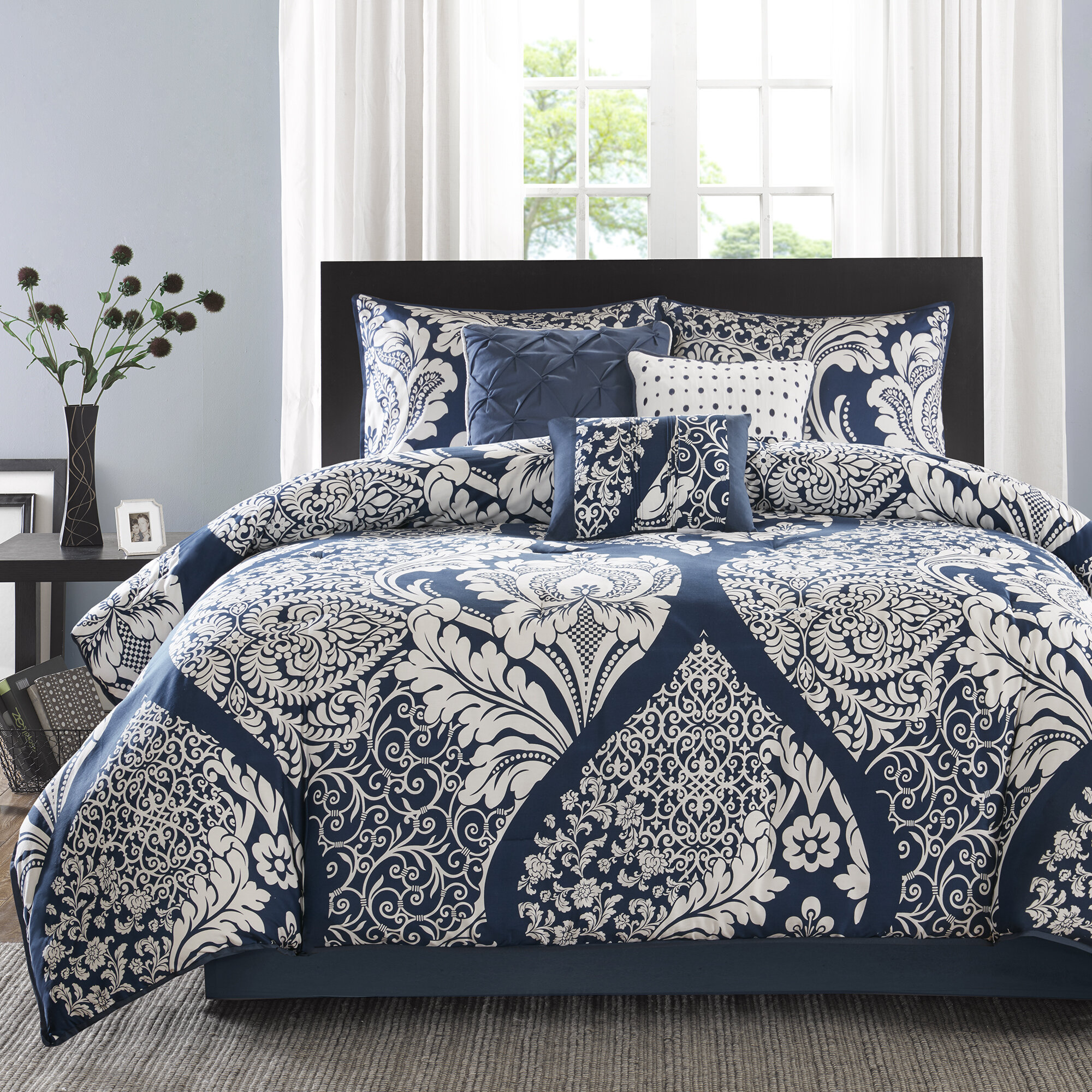 Comforter Sets.Milltown 7 Piece Comforter Set
