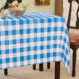 Barbazan Check Tablecloth