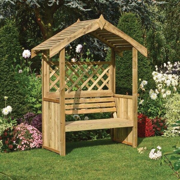 Sol 72 Outdoor Penncross Wooden Arbour Wayfair Co Uk