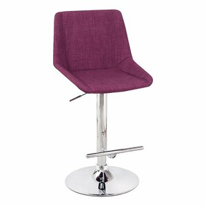 Adjustable Height Bar Stool by Adeco Trad..